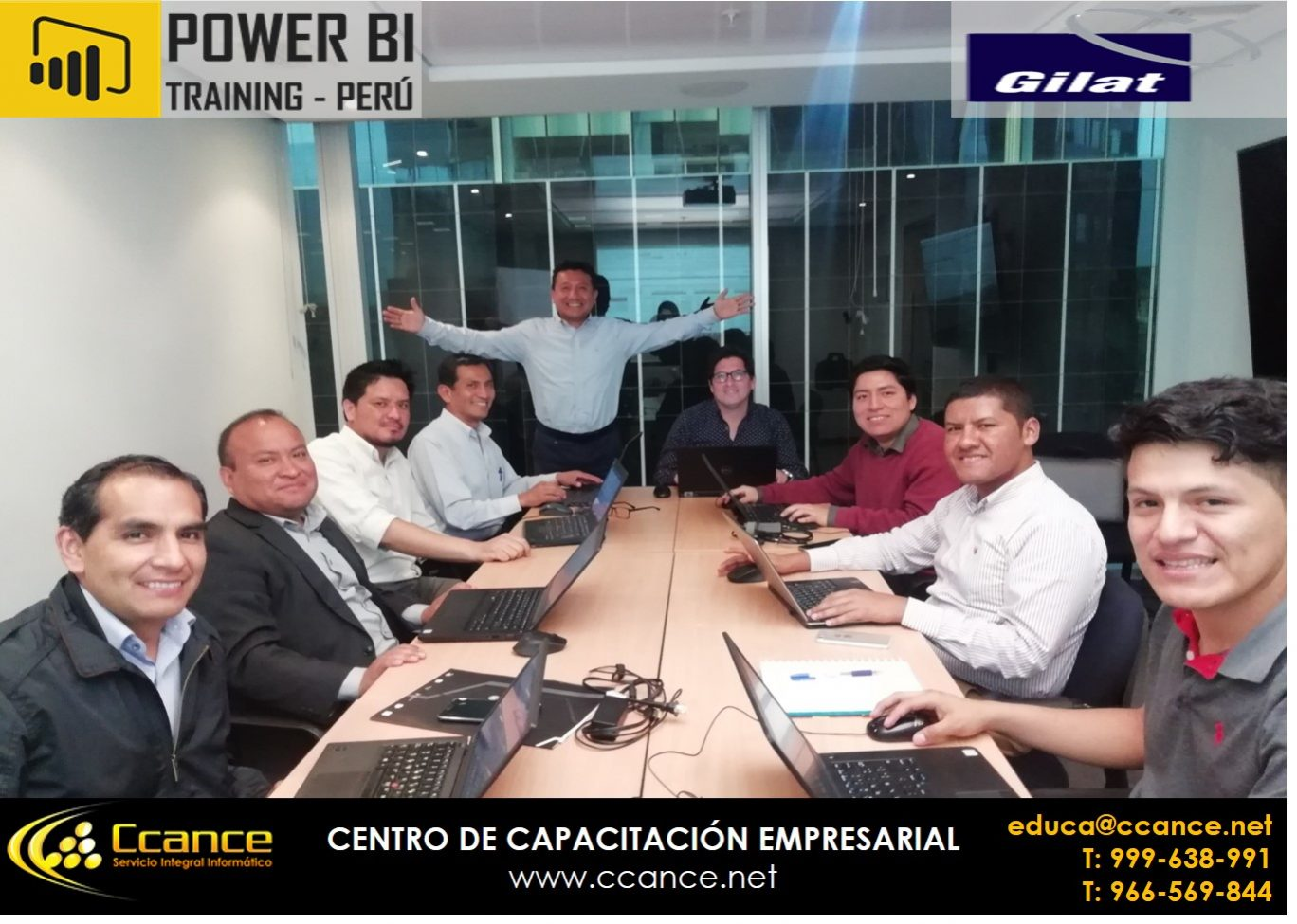 CAPACITACIÓN GILAT – 2019 – POWER BI PERÚ
